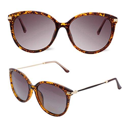 Mode Soleil Noir Monture Lunettes Leopard Color Soleil Grand Couleur de de Lunettes Féminine à Polarisées Lunettes SqqYPIpOnw