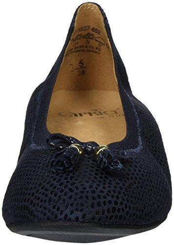 Caprice 22158, Bailarinas para Mujer Azul (OCEAN SUE REPT 852)
