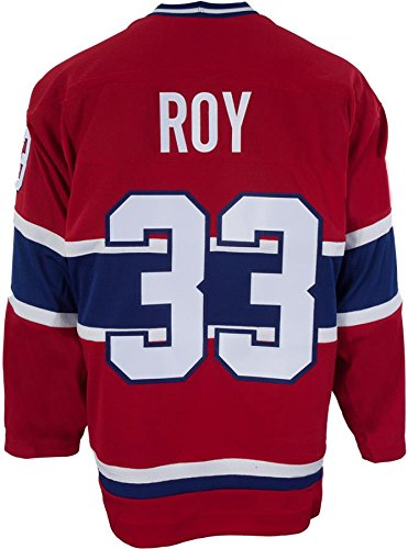 Roy Jersey (Patrick Roy Montreal Canadiens CCM Premier Throwback Jersey - Red)