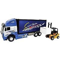Team Power Truck Camión con Grúa Fricción accionamiento Spedition juguete Auto 43cm