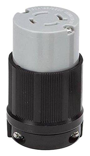 OCSParts L14-20R Grounding Locking Connector, 20A 125/250V AC, 3 Pole 4 Wire, cUL Listed, NEMA L14-20