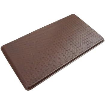GelPro Classic Anti Fatigue Kitchen Comfort Chef Floor Mat, 20x36u201d,  Basketweave Truffle