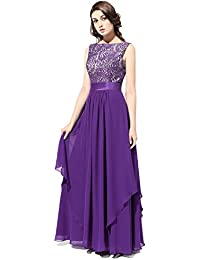 Amazon.com: Purple - Bridesmaid / Wedding Party: Clothing, Shoes ...