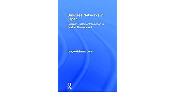 business networks in japan laage hellman jens