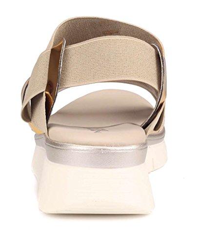 Fonzie Woman Gold The Flexx Sandal qCxfp5Y