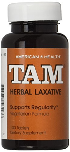 American Health Tam Herbal Laxative, 100 Count