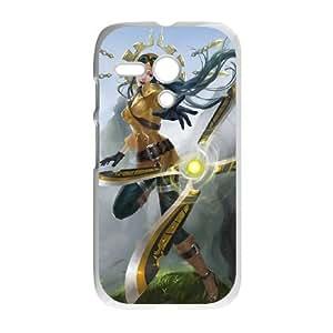 Motorola G Cell Phone Case White League of Legends Aviator Irelia VB6984211
