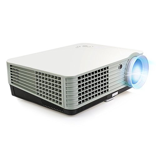 OEM H2 LED LCD (WVGA) Projector - US Version (Includes Warranty) - White/Grey (FP8048H2WG-IV) by OEM Projectors