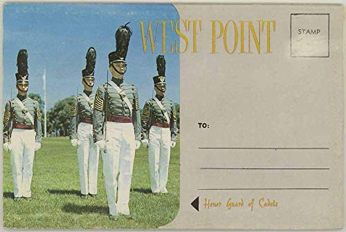 West Point - United States Military Academy New York - 1959 Dexter Souvenir Postcard Folder