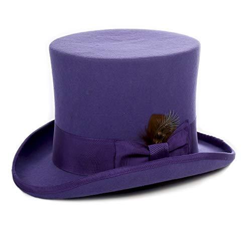 Ferrecci M Violet Top Hat
