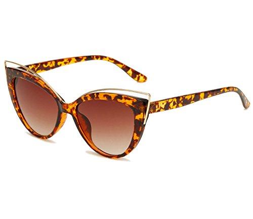 KELUOZE Womens Polarized Sunglasses Cat Eye Sunglasses Aviator Wayfarer - Ansi Sunglasses Z80.3