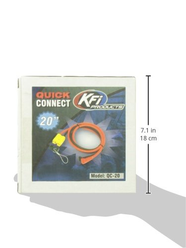KFI Products 20 Quick Connect Winch End QC-20