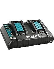 Makita DC18RD batteriladdare, (0,5 h, 0,75 h, 2,25 kg) för litiumbatteri, Svart/Blå