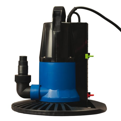 Blue Wave Dredger 1250 GPH In Ground Winter Cover Pump w/ Base - Auto On/Off by Blue Wave