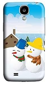 Samsung S4 Case Christmas Snowman 3D Custom Samsung S4 Case Cover Kimberly Kurzendoerfer