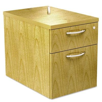 Alera SE551622MP SedinaAG Series Hanging Box/File Pedestal, 15-3/8 x 22 x 19-Inch, Maple ()