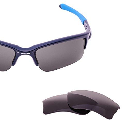 Oakley Quarter Jacket Lens Replacement - Gray Polarized Lenses