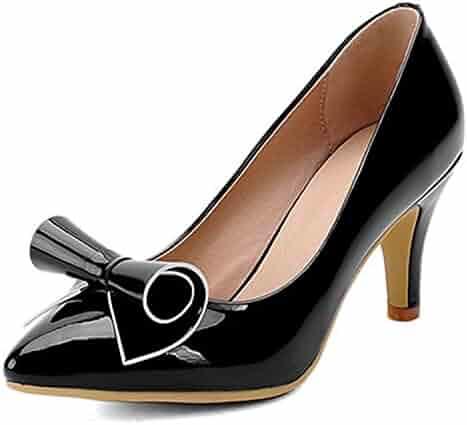 ac994db40793c0 Daniig Leather Pointed Toe Thin Heels Women Pump Large Size 34-43 Spring  Summer Slip
