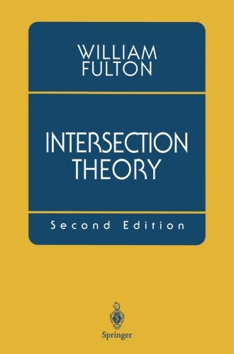 Intersection Theory, 2nd Edition