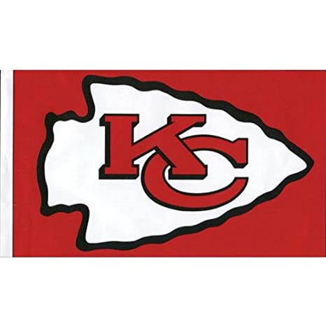 15eea3f8 Old Glory Kansas City Chiefs - Logo 3'x5' Flag