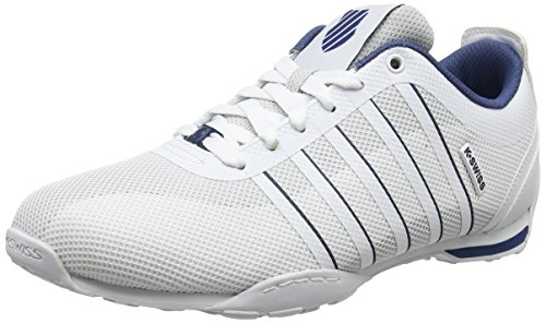 Sneakers 5 Swiss Arvee Blue Ensign Bleu 1 Basses Blanc White Tech Homme K 43 EU White dwXgHqxtX