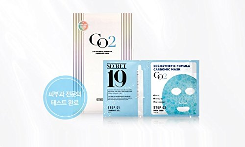 Esthetic House CO2 Carboxy Gel Sheet Mask (1 Sheet) Cellulite reduction Korea Cosmetics Esthetic Mask