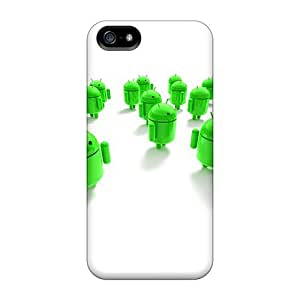 Fashion HClEPAP8006LKMQY Case Cover For Iphone 5/5s(androids) by icecream design