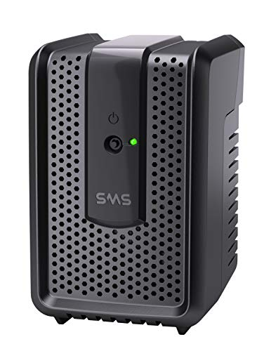 SMS 16520 - Estabilizador Revol. Speedy 300 VA Mono, Preto