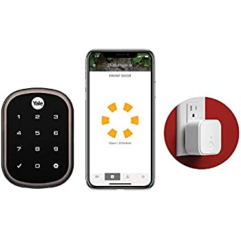 Yale Security YRD256-CBA-0BP Yale Assure SL Connected by August Touchscreen Smart Lock, Oil Rubbed Bronze