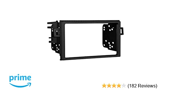 Radio Install Dash Kit 95-7895 Double Din Car Stereo Mount /& Wires for Accord