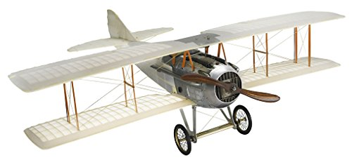 Wwi Spad Transparent Biplane Hanging Airplane Wood Model 24″ Home Decor