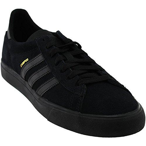 Vulc Black Suede - adidas Skateboarding Men's Campus Vulc II Core Black/Core Black/Core Black 7.5 D US