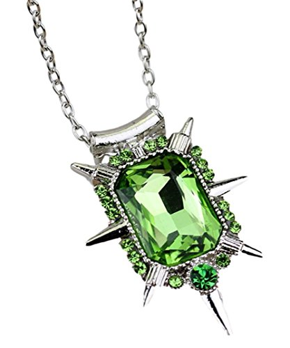 Broadway's Wicked Zelena Wicked Witch Green Emerald Pendant Necklace ()