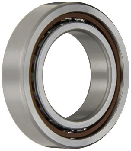 NSK 7009CTRDULP4Y Super Precision Angular Contact Bearing, 15° Contact Angle, Straight Bore, Phenolic Cage, Open Enclosure, Normal Clearance, Metric, 45mm Bore, 75mm OD, 0.630