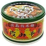 広島呉名物 鳥皮みそ煮 缶詰 130gx5缶セット