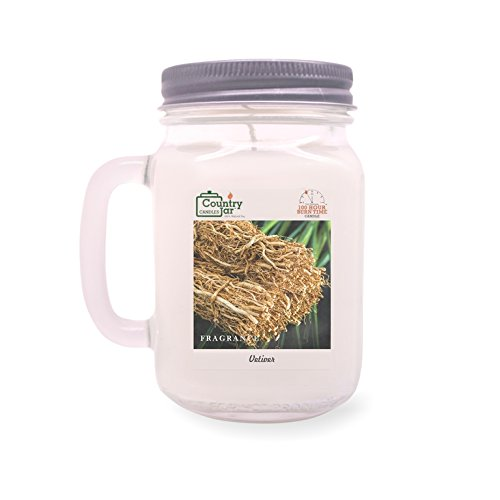 Country Jar VETIVER Mason Jar Candle (16 oz.) 100% Natural Soy (3 OR More Sale!)