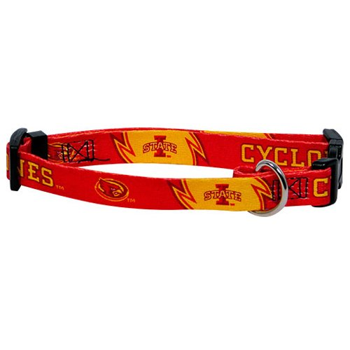 Hunter MFG Iowa State Cyclones Dog Collar, Small