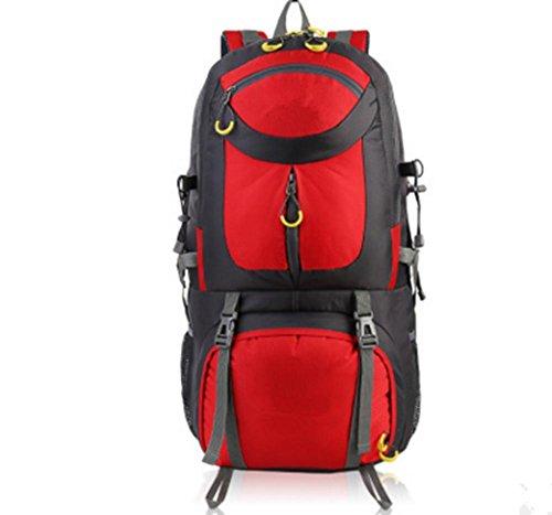 ZXH profesional de viaje al aire libre senderismo bolsa senderismo acampar mochila, C G
