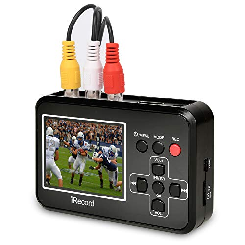 DIGITNOW Video To Digital Converter,Vhs To Digital Converter To Capture Video From VCR's,VHS Tapes,Hi8,Camcorder,DVD,TV Box and Gaming Systems ()