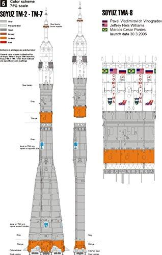 New Ware 1/144 resin kit R-7 Soyuz TM/TMA-8 - NW111-8