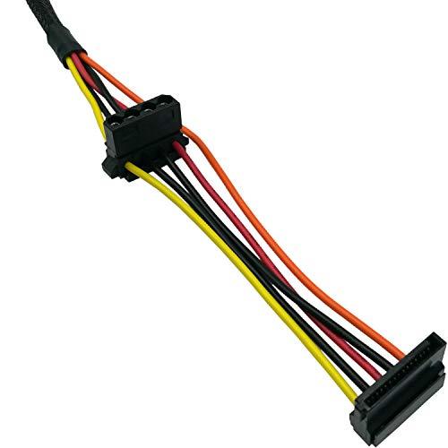 COMeap Motherboard 10 Pin to PCI-E 8 Pin(6+2) SATA IDE Molex