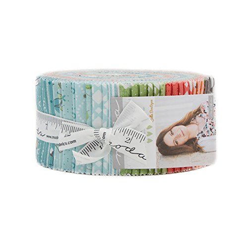 Lella Boutique Nest Jelly Roll 40 2.5-inch Strips Moda Fabrics 5060JR