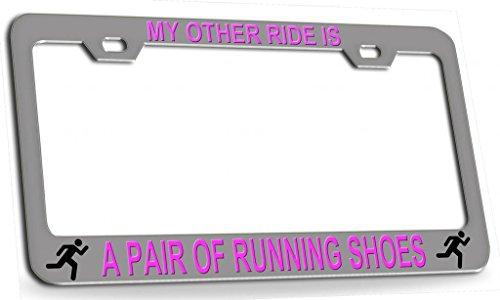 license plate frame for runners - 5