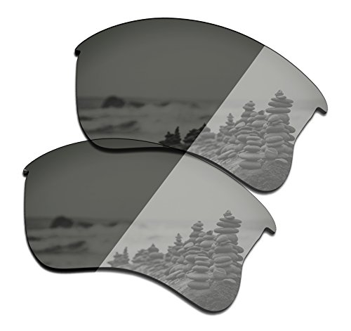 SmartVLT Men's Grey Photochromic Replacement Lenses for Oakley Flak Jacket XLJ - Lenses Jacket Flak Photochromic