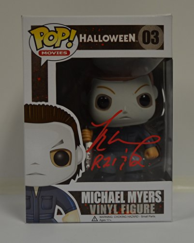 Funko POP Movies: Halloween - Michael Myers (The Shape) Action Figure signed by TYLER MANE who played 'The Shape' from Rob Zombie's Halloween 1 & (Tyler Mane Halloween)