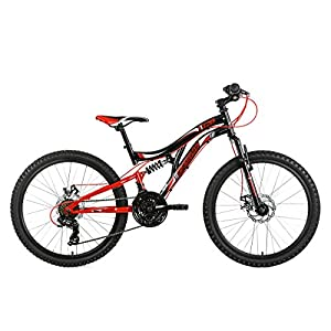 KS Cycling 131K Vélo Mixte Enfant, Noir 5