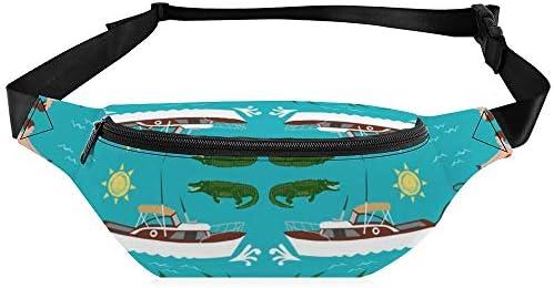 素晴らしいフロリダ ウエストバッグ ショルダーバッグチェストバッグ ヒップバッグ 多機能 防水 軽量 スポーツアウトドアクロスボディバッグユニセックスピクニック小旅行