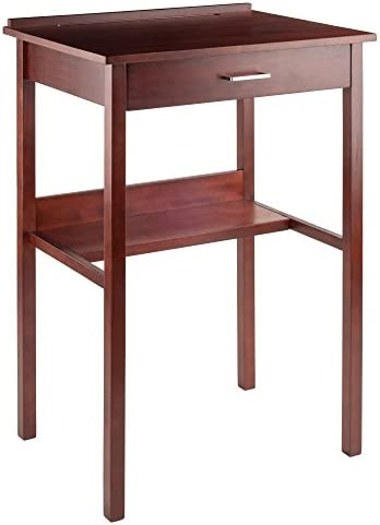 Winsome Ronald High Desk, Walnut