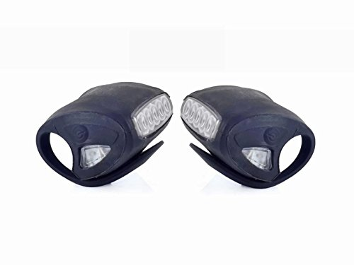 7 led silicone bicycle light - 5