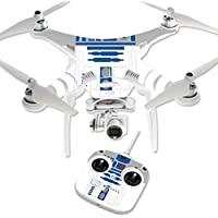 MightySkins Protective Vinyl Skin Decal for DJI Phantom 3 Standard Quadcopter Drone wrap cover sticker skins Cyber Bot